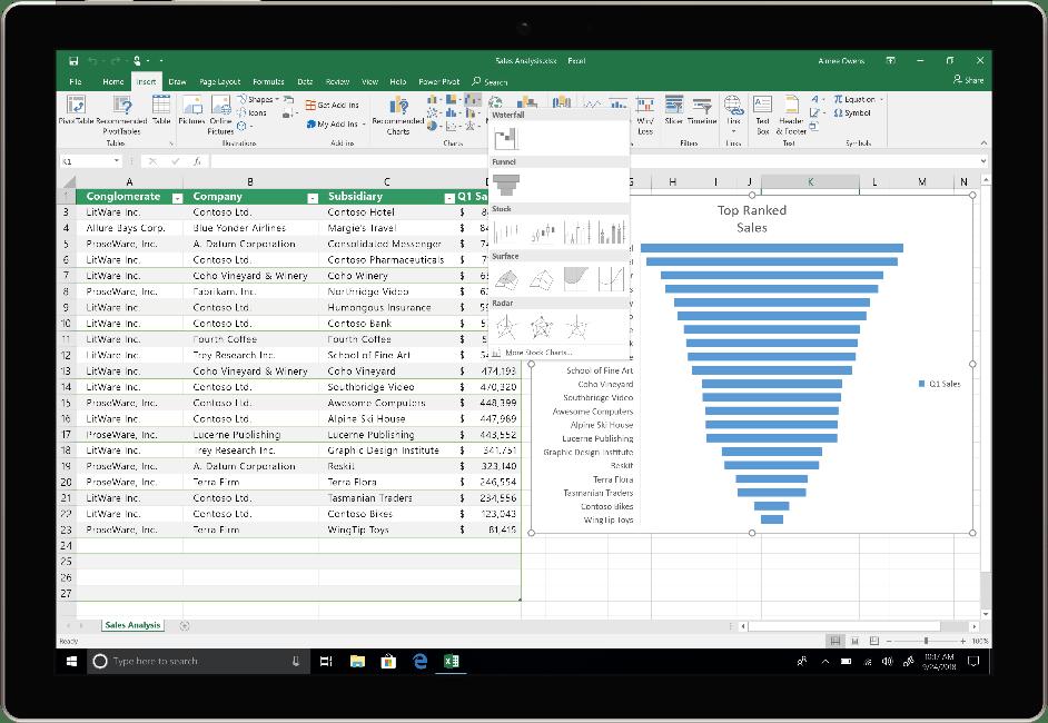 Buy MS Excel 2019 mac width=