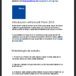 Tutoriales de Ms Word en PDF