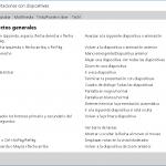 Combinaciones de teclas en Powerpoint 2019