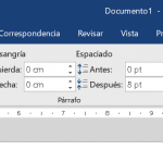 Ficha Disposición de Ms Word