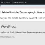 Novedades de WordPress5.1