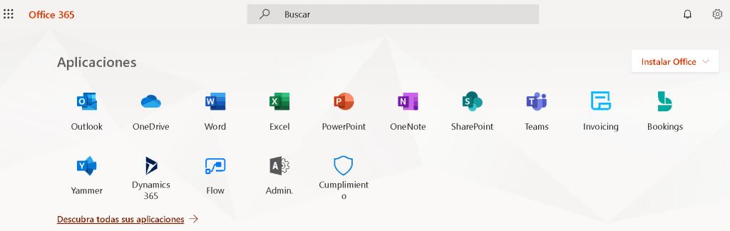 Otras aplicaciones ofimáticas de Microsoft …