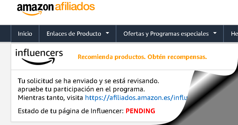 Programa de Influencers de Amazon