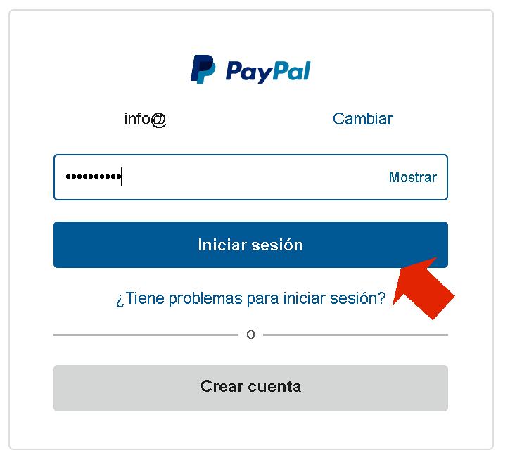 Guía rápida de uso de Paypal