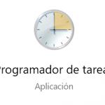 El Programador de tareas de Windows