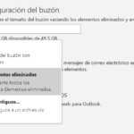 Recuperar correo en Outlook