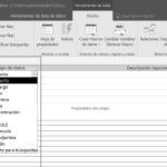 Propiedades de los campos y tipos de datos en Access