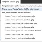 Cómo saber que archivo PHP es cargado por una web