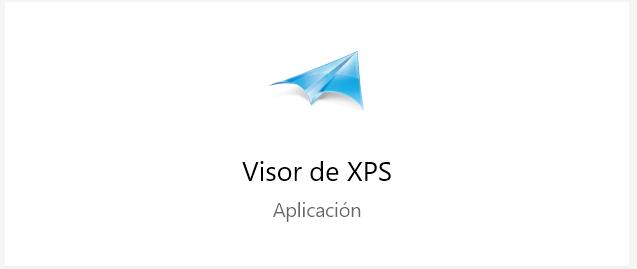 El Visor XPS Aplicación Windows 10