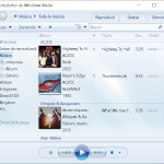 El Reproductor Windows Media Player