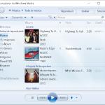 El Reproductor Windows Media Player