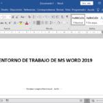 Introducción a Microsoft Word 2019