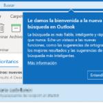 La nueva Búsqueda en Outlook