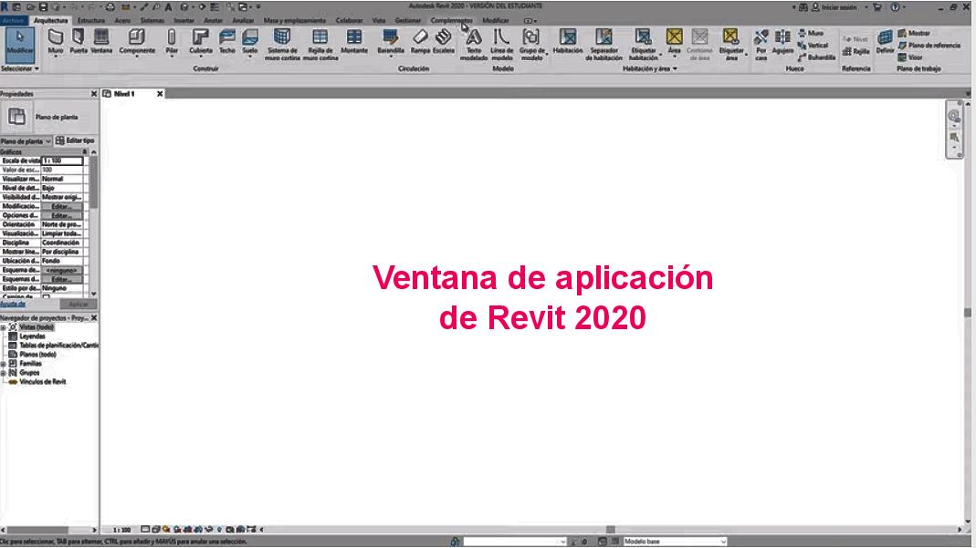GUI Revit 2020